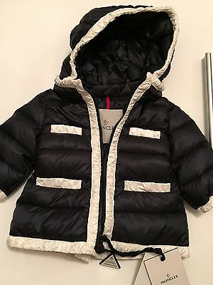 Authentic MONCLER BABY GIRL Jacket 3-6 Months