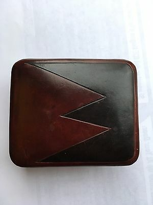 Vintage Firenze Leather Box Signed A. Torchio Rare 1950s