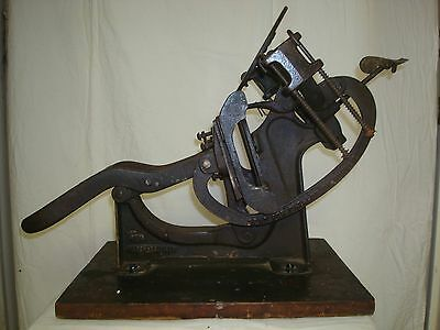 Antique Kelsey 3x5 Excelsior Table Top Printing Press
