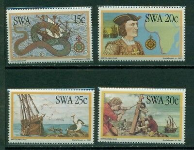 South West Africa Scott #491-494 MNH Discoverers of South West Africa Map $$