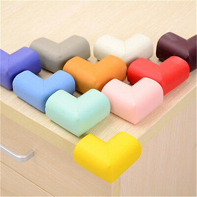 10x Soft Baby Safe Cushion Protector Table Desk Corner Protective Guard Cover ON