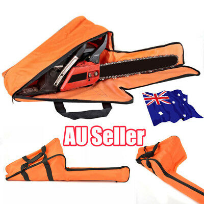 Portable Chainsaw Bag Saw Carry Case Protective Holdall Chain Saw Box Orange ON