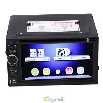 NEW! Quad Core HD 2Din 6.5 inch car dvd gps player Android 4.4.4