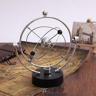 #sup Kinetic Orbital Revolving Gadget Perpetual Motion Desk Art Toy Office Decor