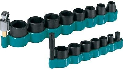 1/4 in. Drive Socket Set Impact Driver Wrench Ratchet 3/8 Hex Square Adapter Kit