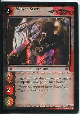 Lord Of The Rings CCG Foil Card RotEL 3.R93 Morgul Slayer