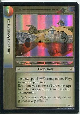 Lord Of The Rings CCG Foil Card RotEL 3.R113 The Shire Countryside