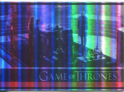 Game Of Thrones Season 4 Foil Parallel Base Card #08
