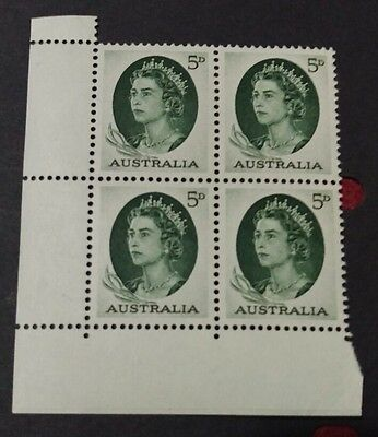 1963-65 Royal Definitive 5d block of 4   MUH a9