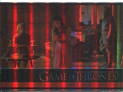 Game Of Thrones Season 4 Foil Parallel Base Card #04