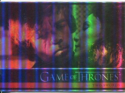 Game Of Thrones Season 4 Complete 100 Card Foil Parallel Base Set