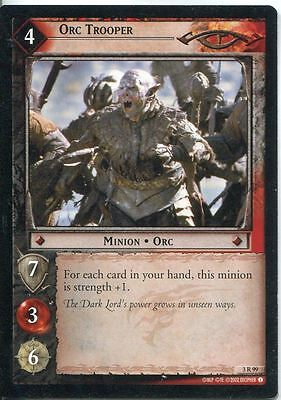 Lord Of The Rings CCG Card RotEL 3.R99 Orc Trooper
