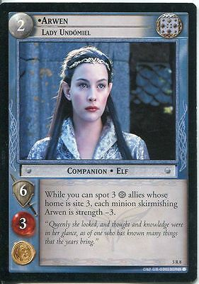Lord Of The Rings CCG Card RotEL 3.R8 Arwen, Lady Undomiel
