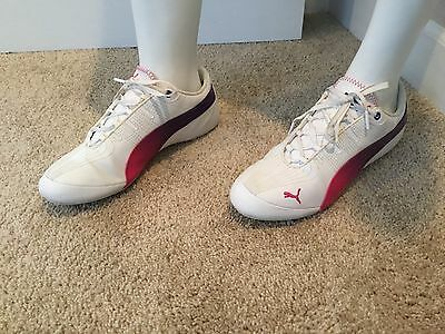 Puma Athletic Women's Shoes Size 9 Narrow  Leather Multicolor