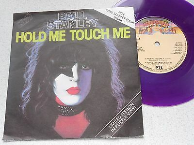 """Paul Stanley,KISS.""""Hold Me ,Touch ,Me""""/""""Goodbye"""" Original 7"""" Purple Solo single!"""