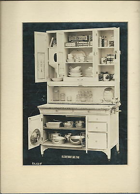 ND-084 - Antique Photograph Sellers Cabinet Stocked Klearfront No 748  Large