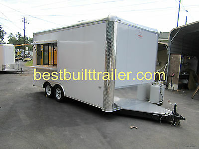 2017 New  8.5 X 16  Concession Trailer, WITH COOKING EQUIPMENT !