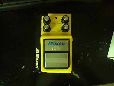 MAXON FLANGER FL9 Effect Pedal, mint!! with box!