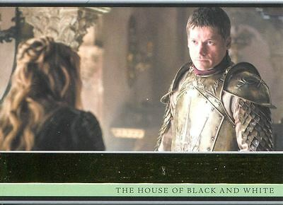 Game Of Thrones Season 5 Gold Parallel Base Card #4 The House of Black and White