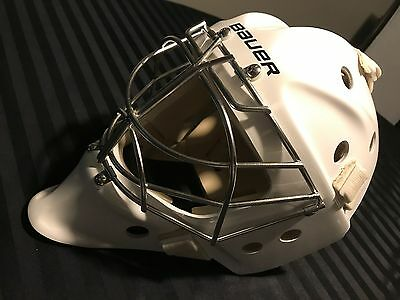 New Bauer 961 Henrik Lundqvist Nhl Goalie Mask