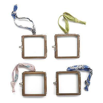 Nkuku Tiny Kiko Frame - Antique Copper - Set of 4 - 5 x 5cm