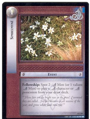 Lord Of The Rings CCG Card TTT 4.R289 Simbelmyne