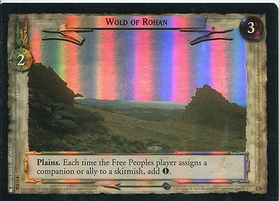 Lord Of The Rings CCG Foil Card TTT 4.U336 Wold Of Rohan