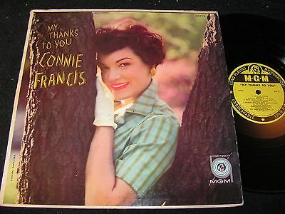 CONNIE FRANCIS My thanks to you / US Mono LP 1959 MGM E-3776