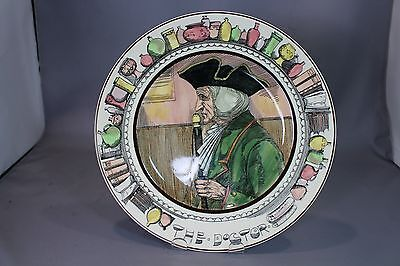 Royal Doulton The Doctor Professional's Series Original Rack Plate