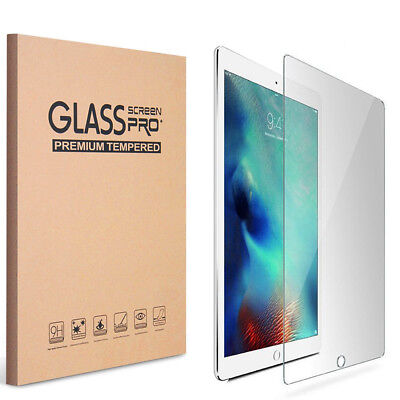 KIQ [2 Pack] Tempered GLASS Screen Protector for Apple iPad 9.7 5th Gen (2017)