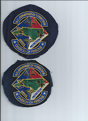 NC North Carolina Department of Corrections Patch
