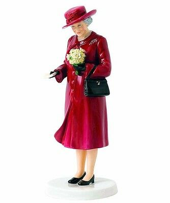 Royal Doulton Birthday Celebration Queen Elizabeth at 90 HN5808 Hand Signed New