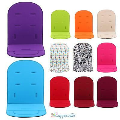 Washable Baby Trolley Stroller Pram Pushchair Soft Seat Liner Pad Cushion Mat US