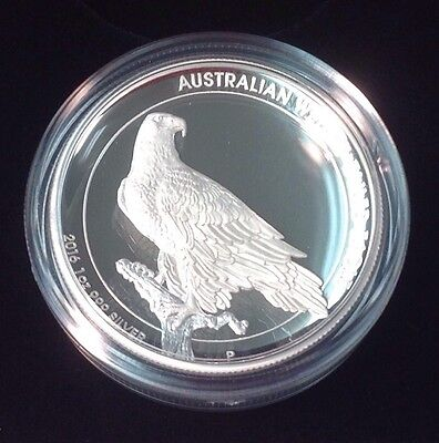 2016 Australia Wedge Tailed Eagle 1oz Silver Proof High Relief