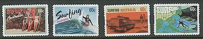 Australian Stamps: 2013 Surfing Australia - Set of 4 P&S  - Used