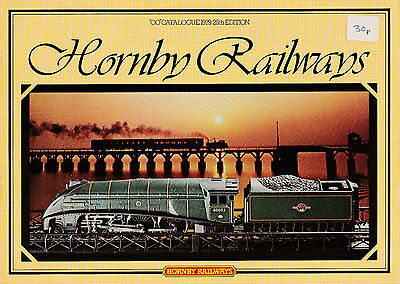 HORNBY RAILWAYS OO; 1979 25th Edition Catalogue. 63 Pages VERY GOOD+ CONDITION