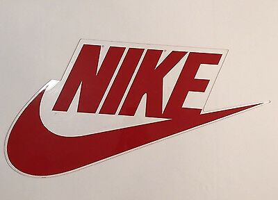 Rare NIKE Vintage 80s Store Advertising Display Sign Free Shipping!