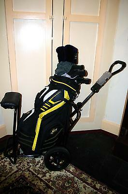King Cobra Oversize Golf Clubs Bag, Buggy, Balls And Accessories