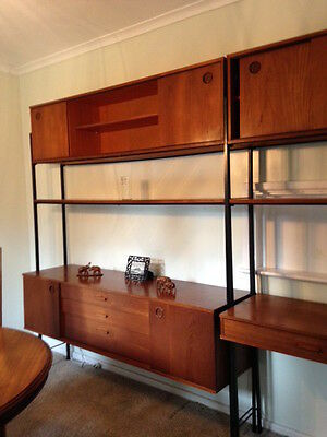 Teak Sideboard & Matching Desk - Genuine Mid Century Avalon - 1960s