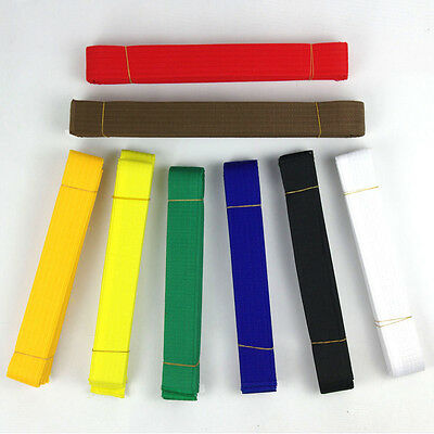 New Taekwondo Belt Karate Double Wrap Belt All Colors Professional Martial Arts