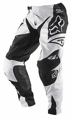 FOX 360 MOTOCROSS PANTS #28 NEW RRP$199 black white Off road Motorcross MX