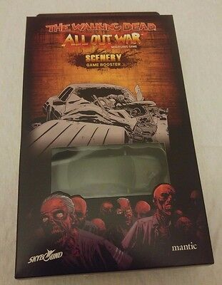 The Walking Dead: All Out War Scenery Booster (Mantic 28mm Miniatures Game)
