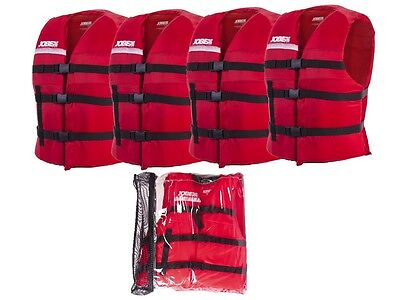 JOBE Universal Promo Package Swimming Vest Life Jacket Red