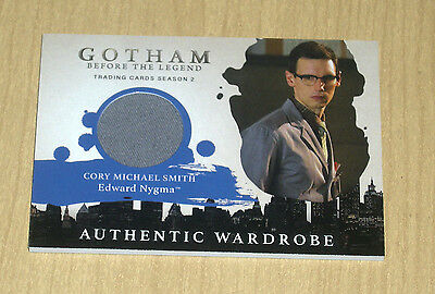 2017 Cryptozoic Gotham season 2 wardrobe costume Cory Michael Smith NYGMA M04