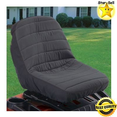 Tractor Seat Cover Water Resistant Fabric Riding Lawn Mower Seat Mat Medium New