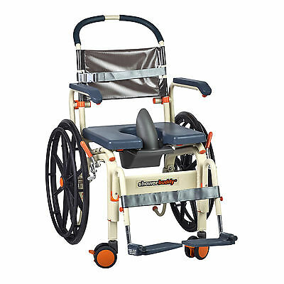 ShowerBuddy Roll-in Buddy SOLO Shower Commode Chair