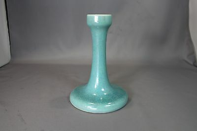 Ruskin Arts and Craft Art Pottery Lustre Candlestick, Dated 1916