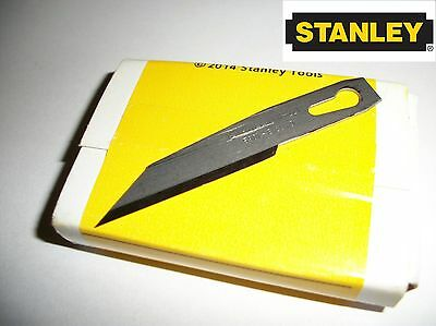 10 x Stanley Craft Knife Blades 5901 - Pack of 10 Blades - 1st Class Post