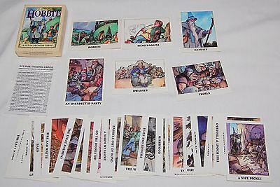 J.R.R. TOLKIEN THE HOBBIT Color 36 Cards 1st David WENZEL Charles DIXON