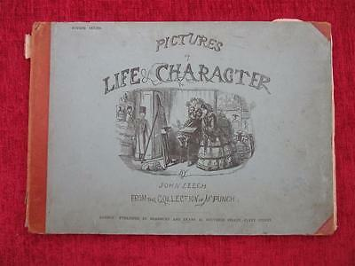 1865 Pictures Of Life & Character 4th Series John Leech Victorian Drawings us7
